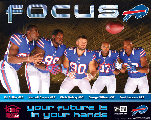 Bills host autograph signing for KED campaign