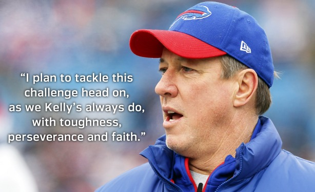 Supporters react to Jim Kelly diagnosis