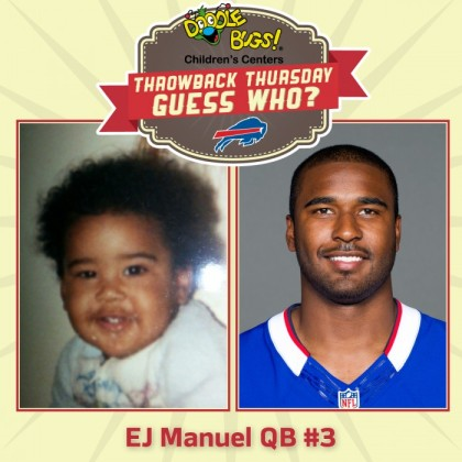 Throwback Thursday: EJ Manuel as a kid