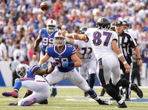 USP NFL: BALTIMORE RAVENS AT BUFFALO BILLS S FBN USA NY