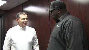 Darnell Barton meets with C