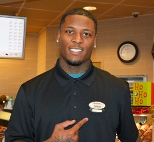Stevie at Tim Hortons