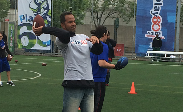 Andre Reed remembers his own draft day