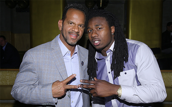 Andre Reed and Sammy Watkins already bonding