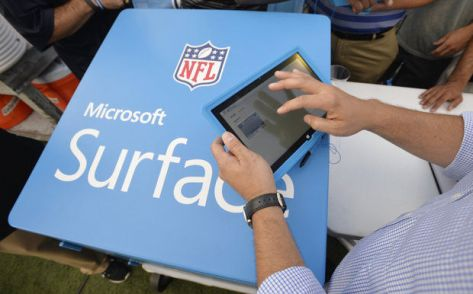 tablet nfl