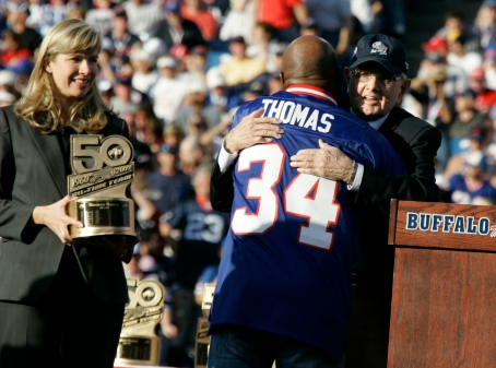 Ralph Wilson Jr., Thurman Thomas