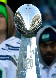 Seahawks Parade Football