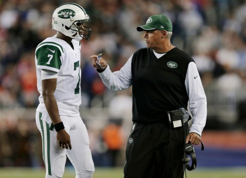 Rex Ryan, Geno Smith