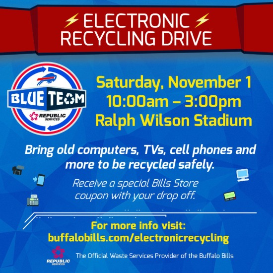 Republic Services Electronic Recycling Facebook & Twitter Graphic