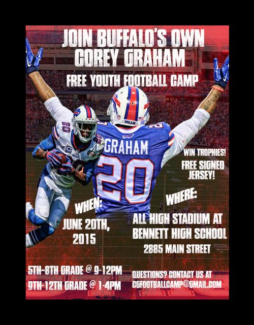 Corey Graham camp