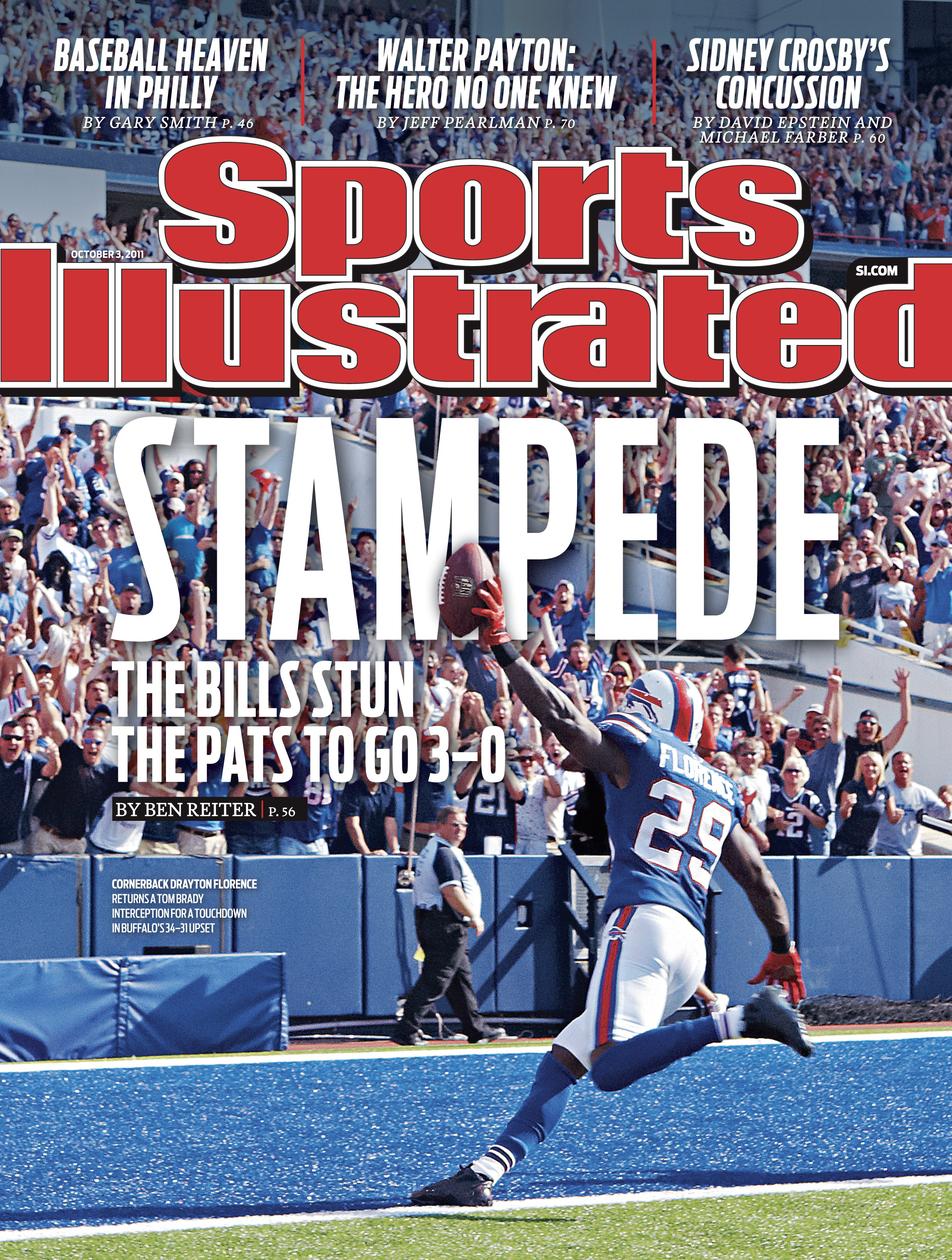 Image result for bills patriots  florence sports illustrated cover