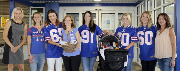 Every September the Buffalo Bills Women s Association hosts a community  outreach event. September is Childhood Cancer Awareness Month. b375b4a57