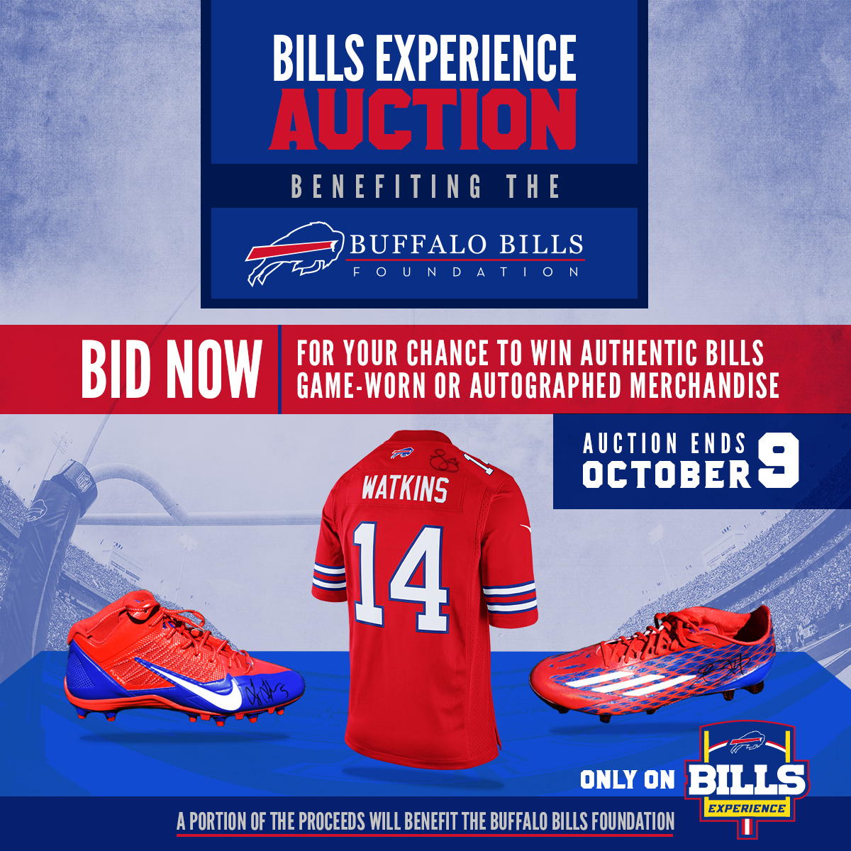259c5c437 Bills launch limited-edition Color Rush Auction benefiting The Bills  Foundation